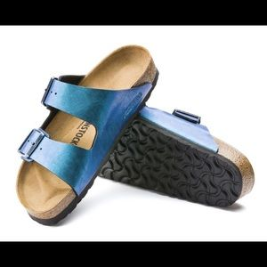 e61e06d6616 Birkenstock Shoes - Birkenstock Arizona Birko-Flor Graceful Gem Blue